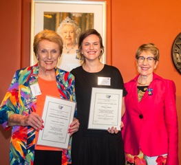 GW NSW President, Awardee and Her Excellency the Honourable Margaret Beazley QC