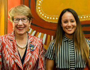 Governor of NSW with Alana Munro